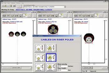 cyme logiciels calcul du courant admissible dans les c bles de puissance. Black Bedroom Furniture Sets. Home Design Ideas