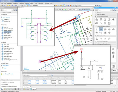 CYME - Software, Enhanced Substation Modeling