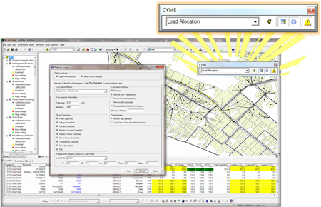 CYME Power Engineering Software - CYME for ArcGIS Desktop™