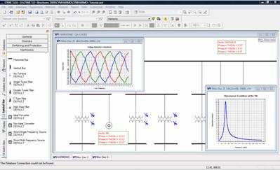 CYME Power Engineering Software - Harmonic Analysis