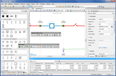 CYME Power Engineering Software - Electrical Network Editor